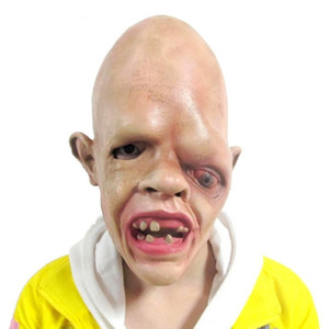 Wholesale Horror Latex One Eye Zombie Face Halloween Mask Fancy Party Costume Scary Dress Props Toys for Adult Kids