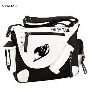 Wholesale Fashion Japan Style Anime Fairy Tail Messenger Bag Brand New Erza Cosplay Casual Zipper Boys Girls Shoulder Bag