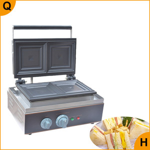 Wholesale bread machines resale online - Qihang_top Restaurant automatic sandwich toaster machine commercial sandwich waffle maker electric bread making machine for sale