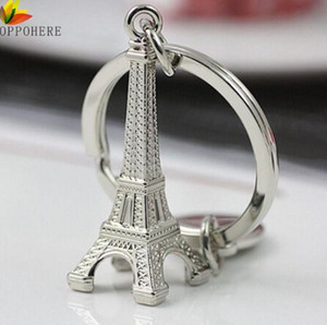 OPPOHERE Torre Eiffel Tower Keychain For Keys Souvenirs, Paris Tour Eiffel Keychain Key Chain Key Ring Decoration Key Holder