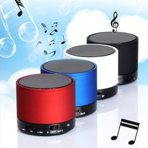Wholesale S10 Bluetooth Speaker Outdoor Speakers Handfree Mic Stereo Portable Speakers TF Card Call Function No Logo In Retail Box