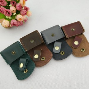 Wholesale Coin Purse Genuine Leather Hasp Small Purse Short Coin Wallets Crazy Horse Leather Mens Leather Coin Purses For Women & Men