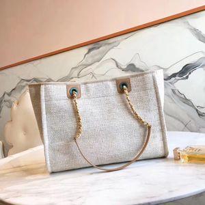 new Popular Lady Bags Luxury Genuine Straw Canvas Women Handbags Designer bag Shoulder Bag Ladies Bags Fashion Handbags