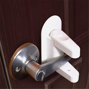 Children Safety Dooe lever baby Door Handle Locks kids Safety supplies 2 pcs set C5151