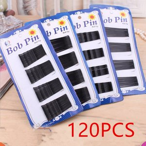 120PCS bag Hair Accessories Hair Clips Women Ladies Pins Invisible Curly Wavy Grips Salon Black Barrette Styling Tool