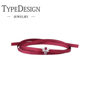 Wholesale TYPE JEWELRY Bee red rope bracelet