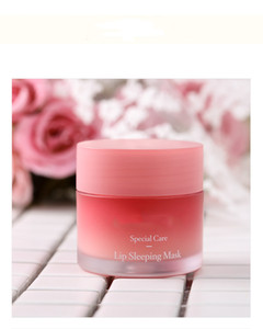 Wholesale lip masks resale online - Brand New Laneige Special Care Lip Sleeping Mask Lip Balm Lipstick Moisturizing LZ Brand Lip Care Cosmetic g