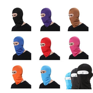 Wholesale Lycra Color Fashion soft equipment outdoor riding motorcycle windbreak dustproof CS Mask Party Masks T7I016
