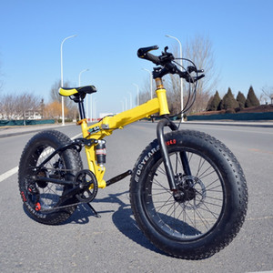 Wholesale New Arrival Speeds Disc Brakes Fat Bike Inch x4 quot Fat Tire Snow Bicycle