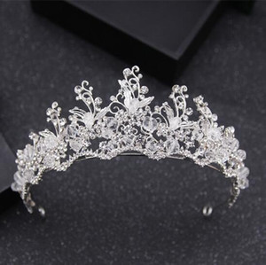2018 New Arrival Beautiful Elegent Crystal Headband Accessories Vintage Sparkling Wedding Supplies Headpieces Handmade Bridal Accessories
