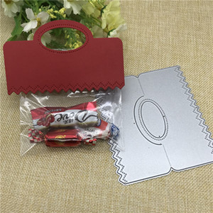 Wholesale Cut gift card box pack bag topper head Metal Cutting Dies Stencil for DIY Scrapbooking Photo Album Embossing Paper Cards