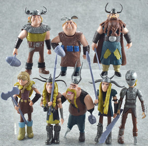 Wholesale Classic styles How to Train Your Dragon Plastic Cement Action Figures inch Movies Cartoon Toys Christmas Gift for Kids FREE Movie