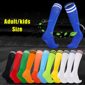 Wholesale Summer Adult Kids Thigh High Football Socks Cosplay Over Knee Long Soccer Stocking Socks Dance Baseball Hockey Sock Children