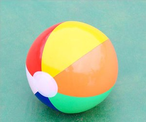 Wholesale Big size cm Best Summer Toys For Children Inflatable Beach Ball Multi colour Outdoor Beach Ball Water Sports Balloon Water Toys