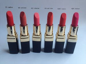 Wholesale 2018 new color Brand Hydrating lip colour Creme Colors colors with english name Makeup Lipstick g
