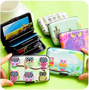 Factory direct selling owl illustration cute card bag female multi card bus bank identity card package on Sale