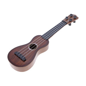 Wholesale Mini Ukulele Simulation Guitar Baby Kids Musical Toy Instruments Children Pretend Play Game Music Interest Development Toy Gift free shippin