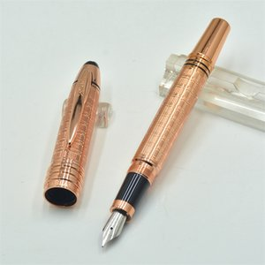 Wholesale New arrival John Kennedy classics Fountain pen for JFK mark clip PVD coated fittings and brushed surfaces with Monte brands Serial Nunber
