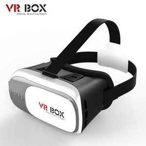 Wholesale VR Box Gamepad Virtual Reality D Glasses Helmet VR BOX Headset For Smartphone inch inch with Retail Package