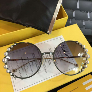 RIBBONS AND PEARLS FF 0295 S Light Ruthenium Grey Shaded Sunglasses Sonnenbrille gafas de sol brand designer sunglasses glasses New wth Box