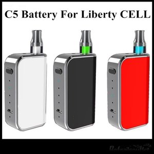 Wholesale New Design Komodo C5 Box Mod mAh Preheat Battery For Amigo Liberty Cartridges V1 V5 V9 X5 A3 Good As Vmod Free DHL