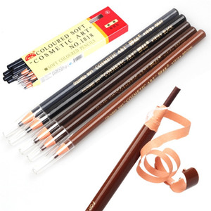 Wholesale eye brow dye resale online - 12pcs Brand Eyebrow Pencil Waterproof Microblading Pen Long lasting Eyebrow Enhancer Easy Wear Eye Brow Tint dye Makeup Tools