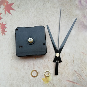 ingrosso albero da 12mm-Commercio all ingrosso MM Shaft Sweep Clockwork per accessori orologio al quarzo con orologio nero mani kit fai da te