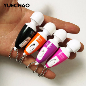 Wholesale YUECHAO Mini vibrator Egg Bullets Clitoral G Spot Stimulators magic AV Wand Vibrating Massager Stick for Women Masturbation