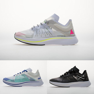 Wholesale New Lab Zoom Fly SP Men Running Shoes BETRUE Black Light Bone White Crimson quot Breaking quot Women Casual Sports Trainers Sneakers Zapatos