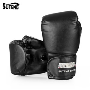 Wholesale SUTENG Pair PU Boxing Kickboxing Training Fighting Sandbag Gloves for Fighter MMA Boxing Gloves Fitness Equipment