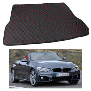 Wholesale New Anti Scrape Leather Car Trunk Mat Carpet fit for BMW 4-Series Convertible 2014-2017 15 16