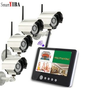 Wholesale SmartYIBA quot TFT LCD Monitor Recorder CH digital wireless camera and DVR system G Wireless Cameras Audio Video Baby Monitors