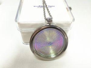 AlphaSpin Mini Bio Disc Pendant Alpha Spin Scalar Energy Balance Body 2018 Newest Health Products Quantum Scalar Energy