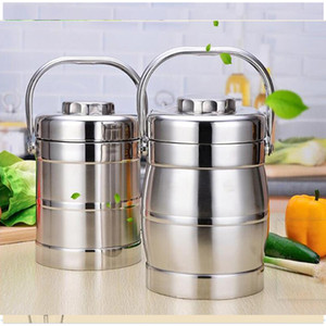 Wholesale kids lunch boxes for sale - Group buy 1 L L Portable Stainless Steel Vacuum Bento Box Thermal Food Containers Lunch Boxs For Kids