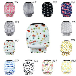 12 colors Baby Car Seat Cover ,Stretchy Car Seat Cover,Baby Carseat Canopy,Privacy Nursing Cover
