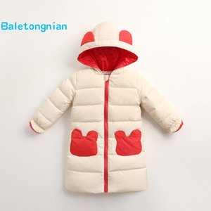 Wholesale Children Jackets Boys Girls Winter White Duck down coat Baby Winter feather Coat Kids warm outerwear snowsuit Overcoat Clothes