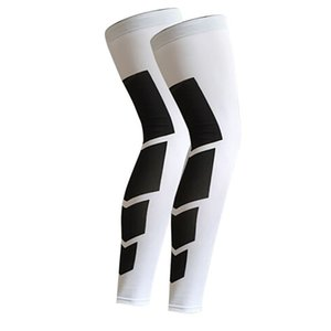 Outdoor Sports Cycling Leg Knee Long Sleeve Protector Gear Crashproof Antislip Legwarmers