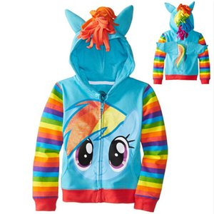 2018 boys sweatshir Cinderella Children Hoodies Baby Clothing Girls Spring Autumn Jacket Coat Kids Casual Sport Outerwear Y1892907 on Sale