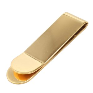 Money Clip  Clamp Metal Titanium Steel Brand Designer Gift Wallets Gold Clips For Paper, Cash