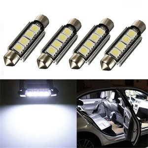Festoon 42MM LED Bulb 5050 SMD Canbus Auto Interior Dome Bulb Light Car Styling Light Lamp 12v