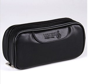 Wholesale Soft PU Leather Bag Clutch for Pipes Portable Tobacco Smoking Pipe Case Pouch Smoking Tools Accessories