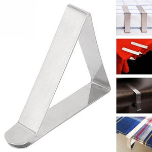 Wholesale Tablecloth Clip Clamp Holder Stainless Steel Table Cover Cloth Clip Wedding Decoration Party Supplies