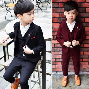 2020 New European Boy Dress 4 Piece Set Children Multi Color Wedding Dresses Into Shop Select More Styles
