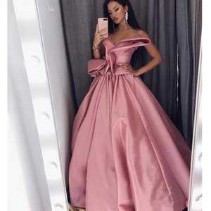 Wholesale 2018 Pretty Celebrity Prom Dresses Sweetheart Sleeveless Pleats Ruched Satin Party homecoming dresses pageant Saudi Arabia evening dresses