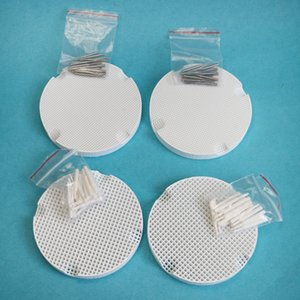 lab Ceramic Honeycomb Firing tray With 40Pcs Metal dental Pins & 40Pcs ceramic dental Pins Dental material for lab