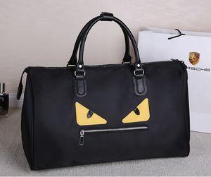 2016 MALE HAND BAG LUGGAGE BAG LUGGAGE LARGE CAPACITY BLACK MULTI-PURPOSE 50 * 20 * 30CM FREE SHIPPING