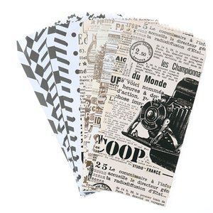 Wholesale cm Chinese Wind Envelope Vintage Newspaper Classic Black And White Envelope Child Gift Stationery Bag