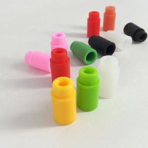 Cheapest Silicone 510 Drip Tips wide bore Rubber Test Tips For Atlantis subtank E Cigarettes Atomizer Mouthpieces vs cleito 120 pico kits