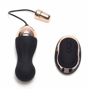Usb Rechargeable 10 Speed Wireless Remote Control Vibrating Bullet Vibrator Love Eggs Sex Toys Products For Women Men on Sale