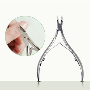 Cheap 1x Stainless Steel Nail Clipper Silver Sharp Manicure Scissors Finger Toe Cuticle Scissors Cuticle Nipppr Trimmer Nail Art Tools on Sale